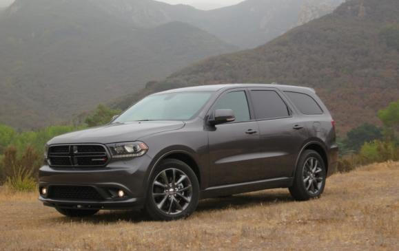 2014 Dodge Durango - front 3/4 view low