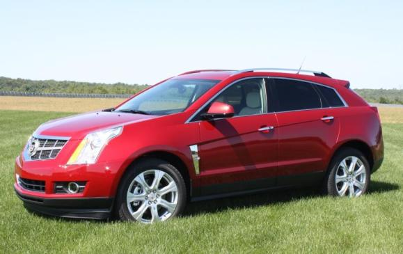 2011 Cadillac SRX - front/side view