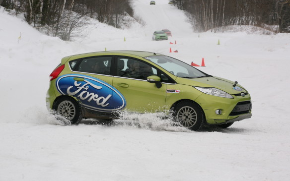 <p>TheTeam O'Neill Rally School is also the home base for Canadian driver Andrew Comrie-Picard's championship-winning Ford Fiesta rally car.</p>