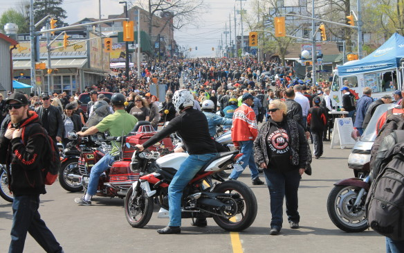 <p>For just one day, Port Dover becomes the largest motorcycle gathering in Canada, and one of the biggest in the world.</p>
