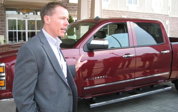 2014 Chevrolet Silverado - GM truck boss Jeff Luke