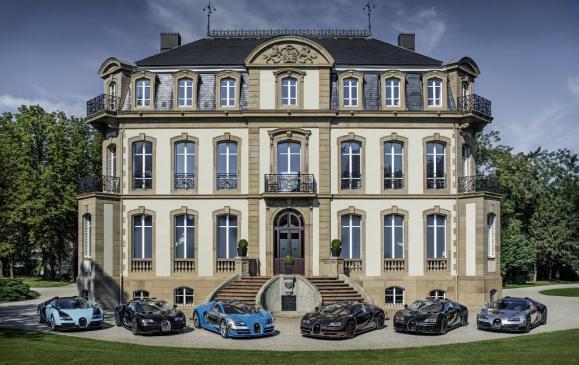 Bugatti Legends at Molsheim
