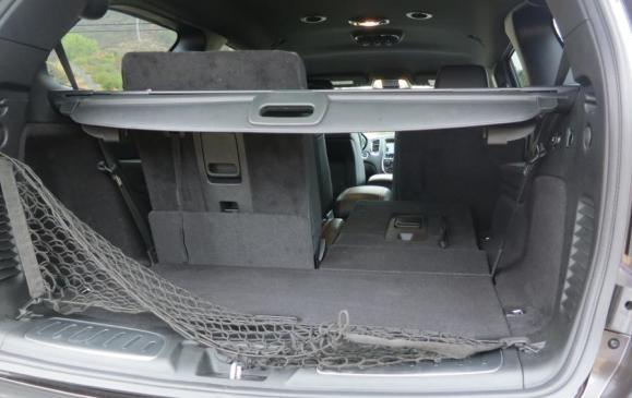 2014 Dodge Durango - rear cargo area