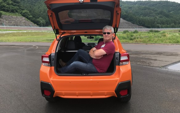 <p>The new Crosstrek is 15 mm longer and 20 mm wider than before, which allows a bit more space all around for passengers. Inside the cabin, there's a little more space between the seats, more headroom and more legroom. Like the Impreza, the base of the front seats is redesigned so there's additional room for a rear passenger's feet.</p>