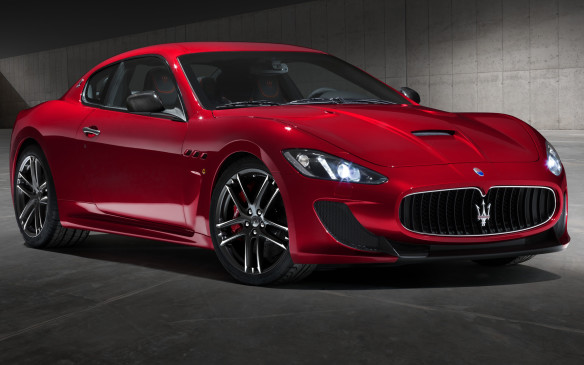 <p><strong>2014 Maserati GranTurismo MC Centennial Edition –</strong> When you turn 100 years old, this would be one heck of a birthday present to yourself. The long-winded Maserati GranTurismo MC Centennial Edition differentiates itself from lesser MC Stradale models with unique paint, wheel styles, striping and interior touches that take inspiration from the red-and-blue company logo. The 4.7-litre V-8 engine still produces 460 horsepower with either a six-speed manual or optional automated sequential transmission carry over.</p>