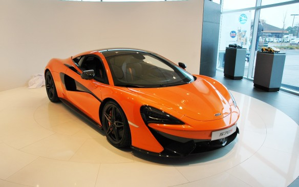 <p>This is one of the actual cars that starred in the 570S's world debut at the New York Auto show. Following its visit to Toronto the car will also be on display in Vancouver (where McLaren's other Canadian store is located), Calgary and Montreal.</p>