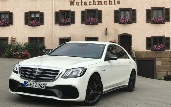 <p>The S63 is the most powerful V-8, hand-crafted by AMG to make 603 hp and 664 lb-ft of torque. You'll pay for it, though: it starts at $163,500. Like the less-costly models, it's only available with 4Matic all-wheel drive in Canada.</p>