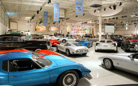 <p>The General Motors Heritage Center was established in 2004 as the result of a decision by GM to consolidate all the historic vehicles that existed throughout the company into a single collection. Prior to developing this corporate heritage fleet, each vehicle division maintained its own history.</p>
