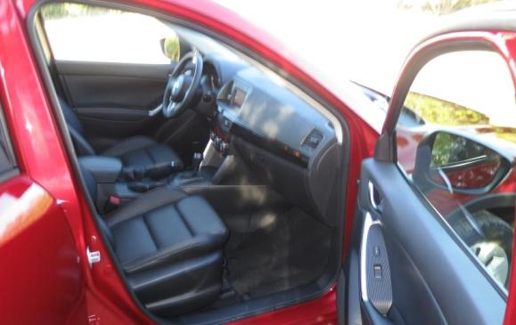 2014 Mazda CX-5 - front seats