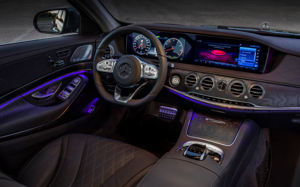 "<p>There is a new ""Energizing"" program that is a $200 option on the S560 and standard on the S63, though it seems to me a bit of a gimmick. There are six different, 10-minute programs that can adjust the cabin for your mood. It will tweak the colour of the ambient lighting, adjust the intensity of the massagers in the seats and even the fragrance of the air vents, and play music from your phone that's determined to be just the right number of beats per minute.</p>"
