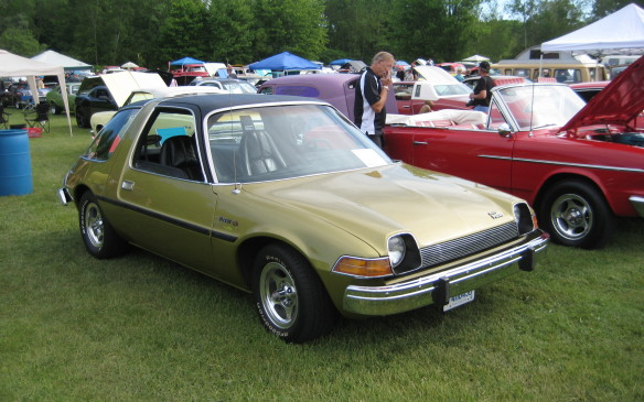 <p>American Motors' 'Wide Small Car', the Pacer, was designed originally to use a GM rotary engine but wound up with AMC's traditional in-line six. Few have survived until now but this one is a beauty.</p>