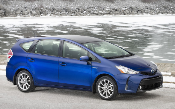 <p>There's no argument here: seeing as the regular Toyota Prius is a hatchback by definition, the Prius V only makes sense in the lineup as a five-seater station wagon. Measuring 2.5-centimetres wider, 15-cm longer and 7.5-cm taller than the regular model, the V offers 60% more cargo capacity (the V stands for Versatility, incidentally). In every other way, however, the Prius V delivers the same awesome benefits of the world's most popular gas-electric hybrid, including impressive fuel economy and stainless green cred.</p>