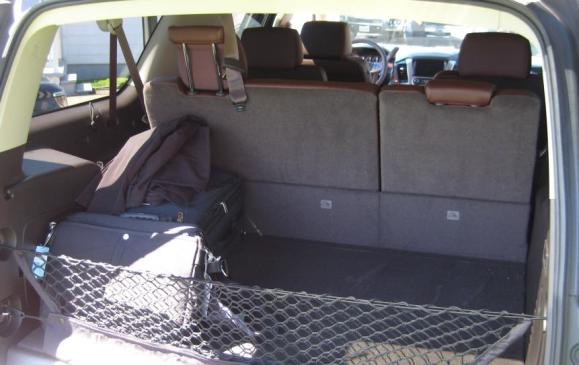2015 Chevrolet Suburban - rear cargo area
