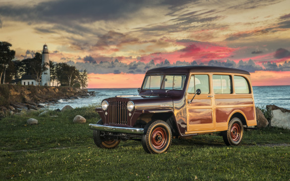 <p>In 1946, Willys created an enclosed wagon with an extended 104-inch (2642-mm) wheelbase. It stayed in production for 20 years.</p>