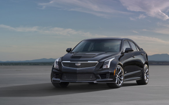 <p>Cadillac ATS-V with 639 points was the third place finisher in this class.</p>