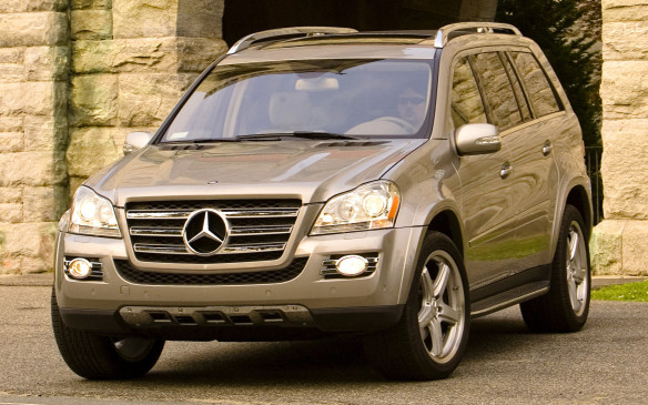 <p>The gargantuan Mercedes-Benz GL three-row luxury ute didn't hail from Stuttgart, but from Tuscaloosa, Alabama, where it was built alongside the M- and R-Class people movers. Tailored for North American pastimes such as towing the boat to the lake and circling mall parking lots at Christmas, the unibody GL shared about three-quarters of its components with its line mates. The GL450 was powered by an all-aluminum 4.7-L DOHC V-8 that made 335 hp and 339 lb-ft of torque.</p>