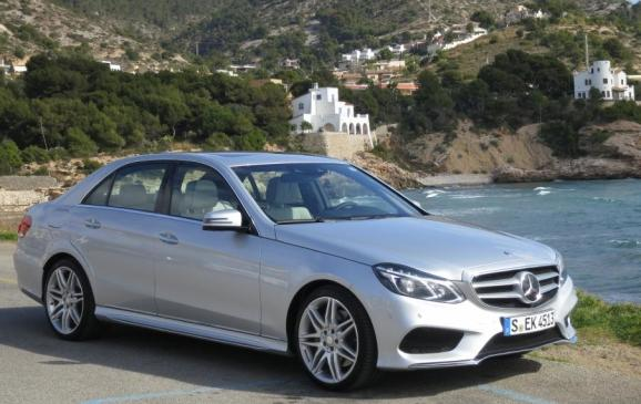 2014 Mercedes-Benz E-Class - front 3/4 scenic
