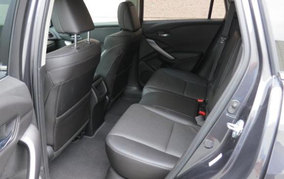 2013 Acura RDX - rear seats