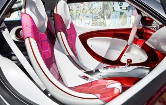 Smart Forstars Coupe Concept - interior