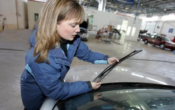 <p>2. Wipers – Look at them closely. If they were used last winter, the leading edges are probably roughened or scarred. Replace them with new ones – winter blades preferably.</p>