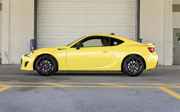 <p>The BRZ, on the other hand, is low, wide and properly aggressive looking. The bright yellow paint is a little much for me, but it certainly stands out (for better or worse, given the attention from the local constabulary) and is my pick of the two, aesthetically.</p>
