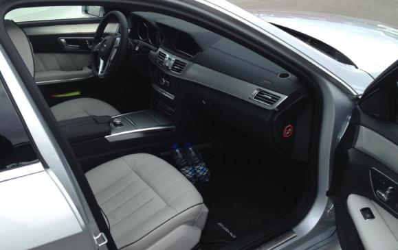 2014 Mercedes-Benz E-Class - front seats