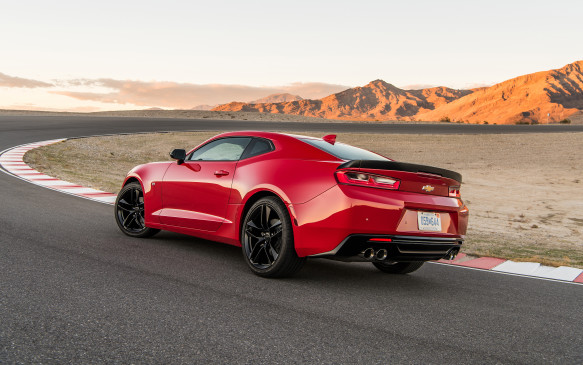 <p>The Chevrolet Camaro is pure American muscle. It will add plenty of character on Valentine's Day, so choose the Red Hot colour for extra effect. The Camaro went through its sixth-generational change in 2016 and it's thoroughly modern inside, while retaining its signature aggressive angular look on the outside.</p>