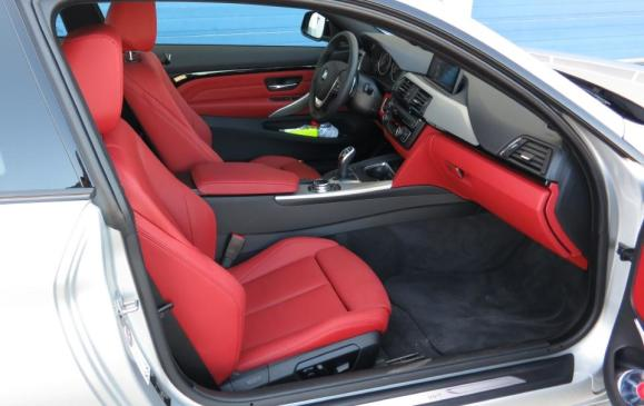 2014 BMW 435i Coupe - front seats