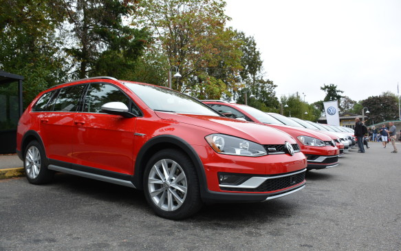 <p>In the United States, the Alltrack will be its own model, but in Canada it will come fully loaded and not be broken down into trim options. It sits at 4588 mm long, which is about 228 mm shorter than it's most obvious rival, the Subaru Outback.</p>