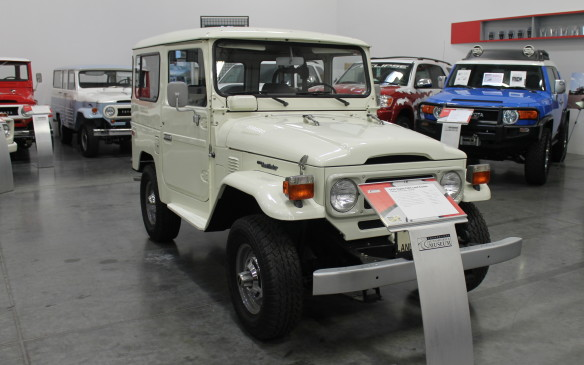 <p>By 1979, the Land Cruiser had gained power steering and power brakes and was a little larger and more comfortable.</p>