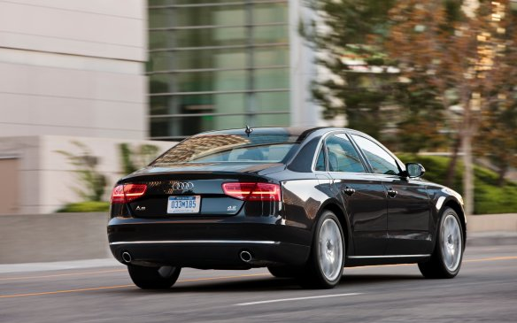<p>Redesigned for 2011, the A8 grew larger with all the obligatory high-tech gear and posh furnishings packaged inside an impeccably tailored cabin. The 4.2-L direct-injection V-8 made a return engagement, pumping out a new peak total of 372 horsepower, working through a ZF eight-speed automatic transmission and Audi's standard Quattro all-wheel-drive system. The result is an expansive, but agile, luxury Q-ship that conceals its best attribute under layers of rich paint. The A8 is distinctive in a way that's not immediately obvious. For this reason alone it deserves a close look and a lengthy test drive.</p>