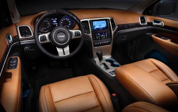 2011 Jeep Grand Cherokee - interior
