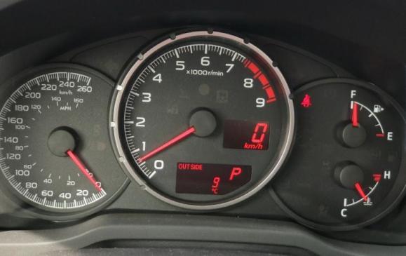Subaru BRZ - Instruments
