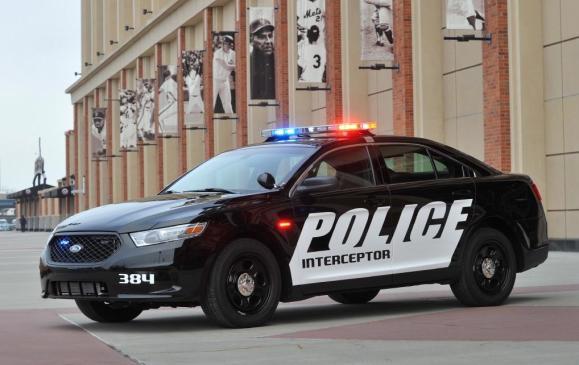 2013 Ford Interceptor Sedan - Police