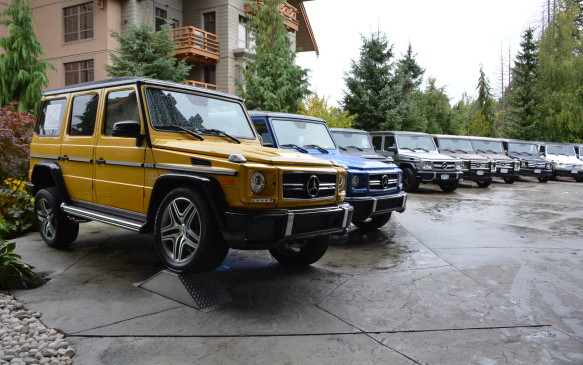 <p>Mercedes-Benz invited a host of journalists to Whistler, British Columbia to experience the G-Class in its natural habitat – the off-road trails. The vehicles used were 2016 G 550s that have the same engine and suspension as the upcoming 2017s.</p>