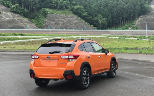 <p>We drove the new Crosstrek at Subaru's testing grounds at Tochigi, built on the top of a mountain a few hours' drive north of Tokyo. There's a high-speed oval and several dirt and gravel roads, as well as areas off-limits to curious journalists.</p>