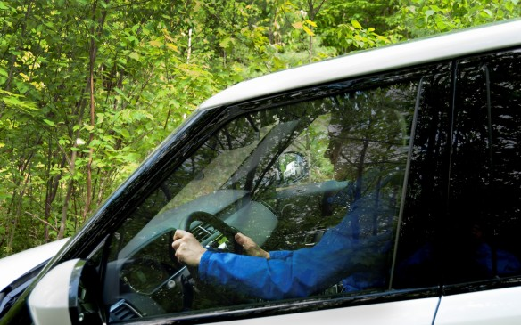 <p>The three S's of off-roading are 'Seatbelts, Steering Wheel and Seat Placement' and they are vitally important. The most important rule when off-roading is keeping yourself and your passengers safe and comfortable – well, relatively speaking on the comfort scale. Each occupant should be securely buckled in at all times with seatbelts, and if for any reason someone needs to exit the vehicle, it  must be put into Park (or in the case of a manual transmission, parked in gear with the paring brake engaged). For the driver, seat placement should allow you to sit upright, and be able to put your wrists on the top of the steering wheel (for positioning; don't drive that way!). You should also make sure your feet can reach all the way to the floor under the brake pedal.</p>