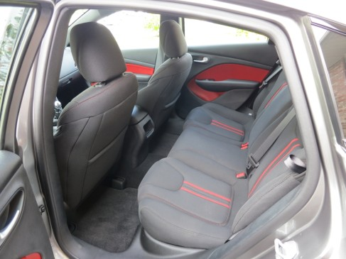 2013 Dodge Dart - rear seat