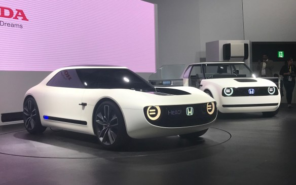 <p>A star of the show, which might actually make production, was Honda's Sports EV Concept, a small and adorable performance version of the Urban EV Concept that debuted a month earlier at the Frankfurt auto show. Honda says the Urban EV might make production in 2020, so perhaps the Sports EV could hit the road soon after.</p>