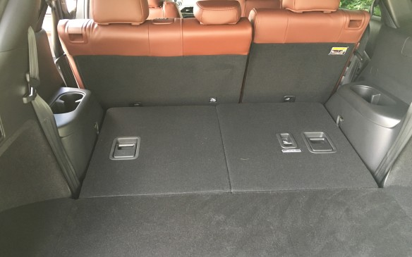 <p>The step and gaps in the cargo floor that made sliding in large items a bit of a challenge in the previous generation model has been eliminated, thanks to a lower floorpan, which allowed the third-row seats to be lowered. With the two rear rows of seating folded, the flat floor of the cargo area can accommodate 2,017 litres. Flip up the second-row seatbacks and you still have 1,082 litres to store stuff. With all three rows upright, there is room for 407 litres of cargo.</p>