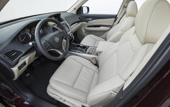 2014 Acura MDX - front seats & instrument panel