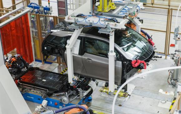 BMW i3 Production