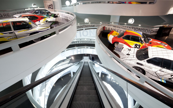 <p>BMW maintains a permanent Art Car exhibition at the BMW Museum at its Munich headquarters.</p>