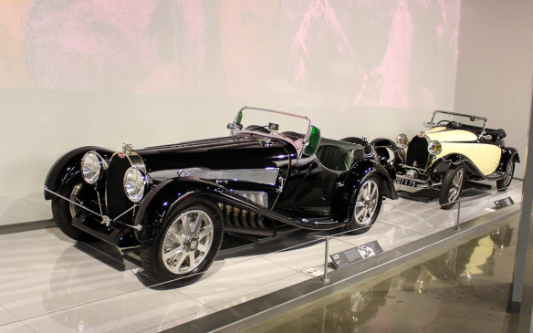 <p>Later Bugattis, including these Type 53 and Type 43/44 models served dual purposes as both road and race cars, but none more exquisitely than the Type 35s.</p>