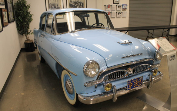 <p>The Toyopet's 60 hp four-cylinder engine was hopelessly underpowered for American highways. It sold for $2,300, but Toyota decided to create a less expensive car more suitable for the U.S. market.</p>