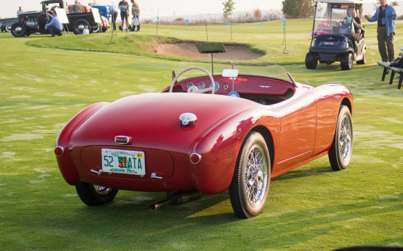 <p>Long before there was Miata, there was Siata – a small Italian tuner firm that also built its own cars for more than two decades. This car, with its own rich racing history, is one of only about 50Siata 300BC BarchettaSportSpiders produced.</p>