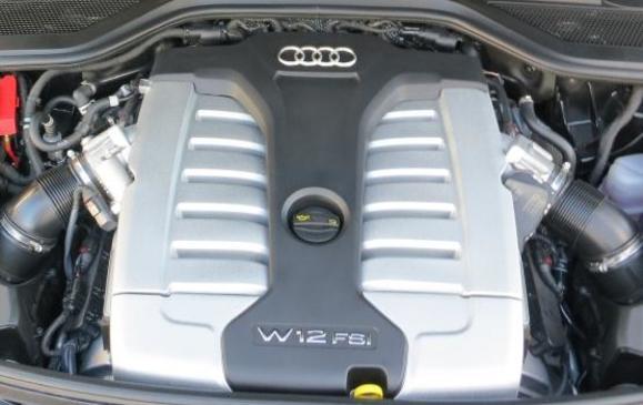 2015 Audi A8 - W12 engine