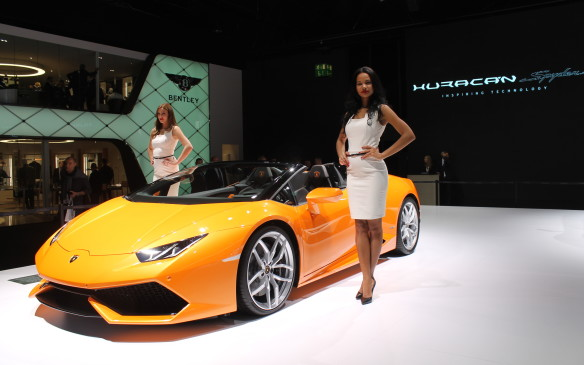 <p>The Huracan Spider only has 610 hp and takes slightly more than 10 seconds to accelerate from zero-to-200 km/h. Good luck explaining that to the police at the side of the road when it arrives in Canada next year.</p>