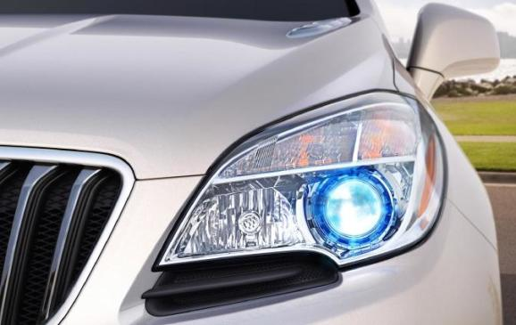 2013 Buick Encore - headlight detail