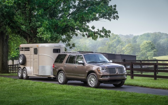 <p>You don't have to drive a full-size pickup to haul a substantial trailer.</p>